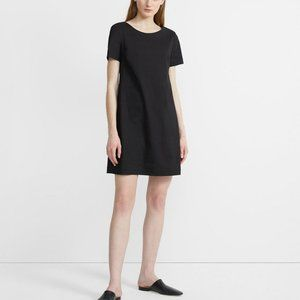 THEORY - PANEL SHIFT DRESS IN GOOD LINEN